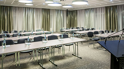 Art hotel conference hall